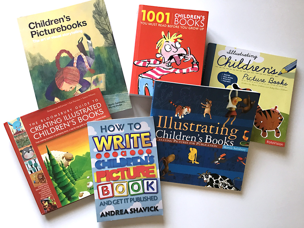 Books I used on how to make a Children's Book (from 2012)