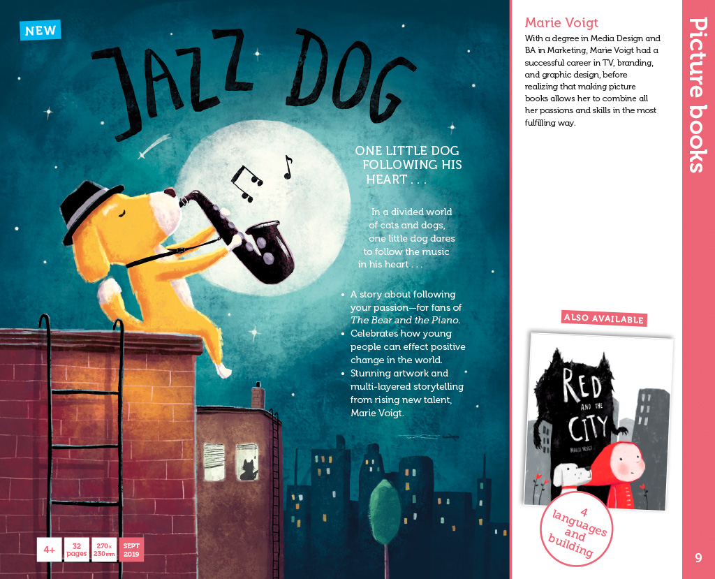 Jazz Dog page in OUP Frankfurt Right Guide 2018