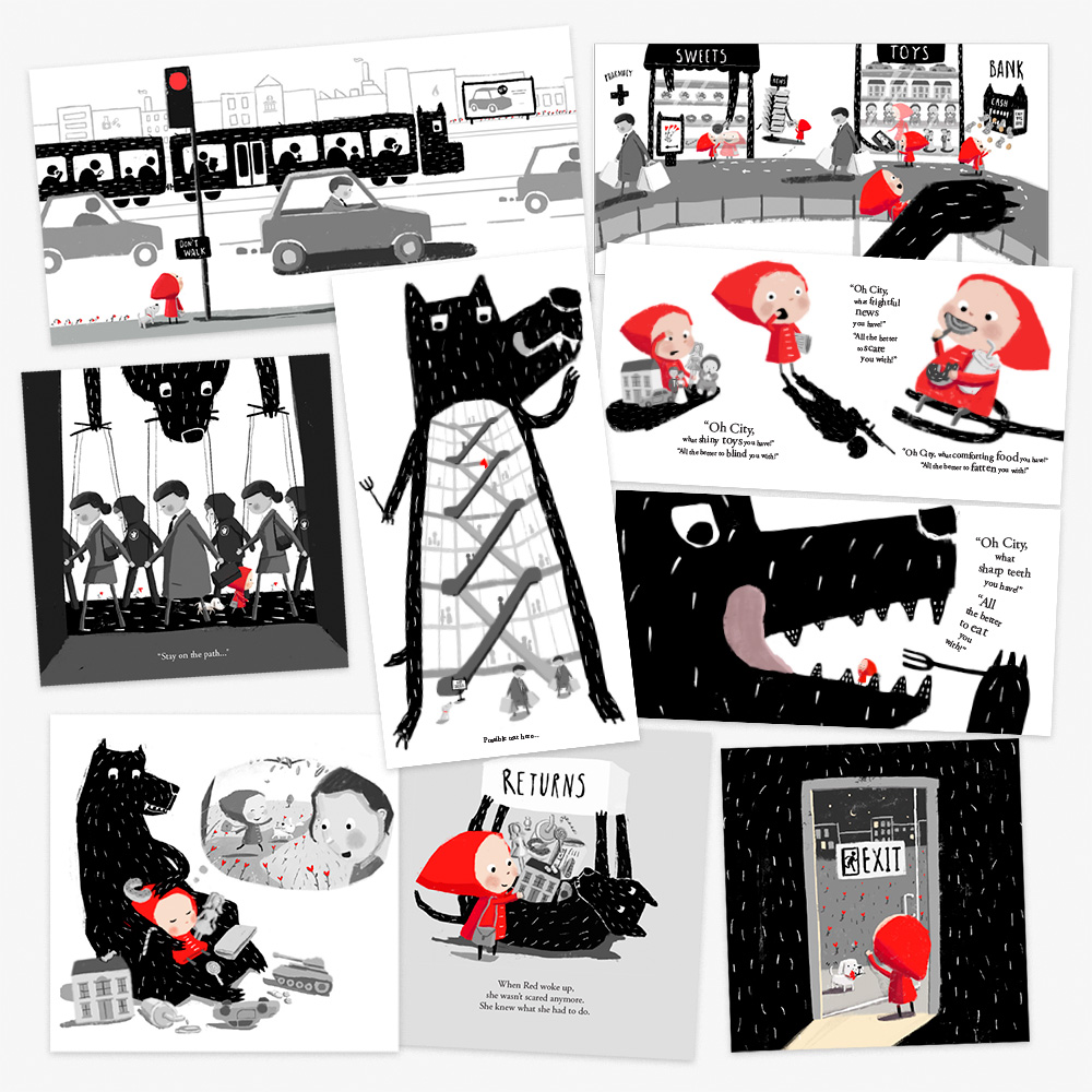 Selection of 'in between' roughs