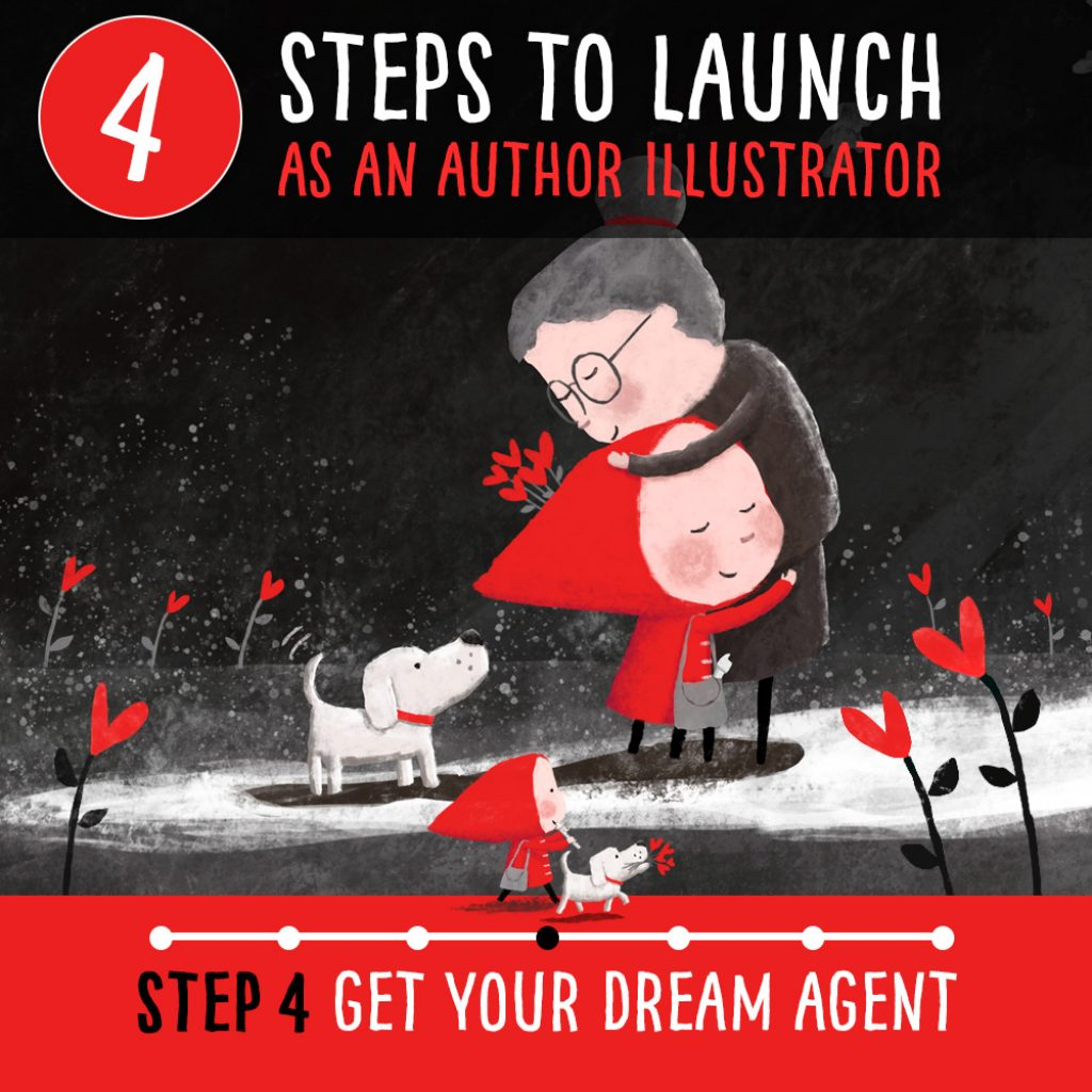 How to become a published author illustrator – Step 4 How to get your dream agent