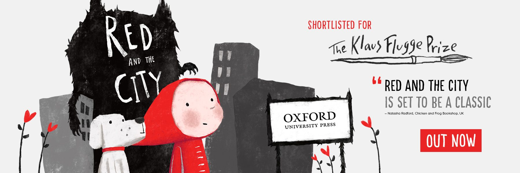 Red and the City – Shortlisted for Klaus Flugge Prize